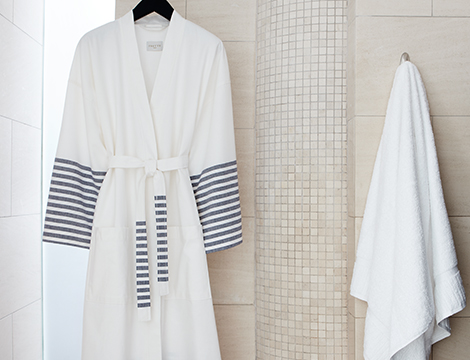 Striped Turkish Robe