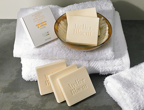 Atelier Bloem Mandarin & Citrus Bar Soap