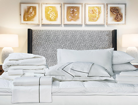 Superb Charcoal Embroidered Bed U0026 Bedding Set