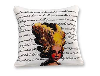 Kimpton Hotel Palomar Philadelphia Lady Pillow