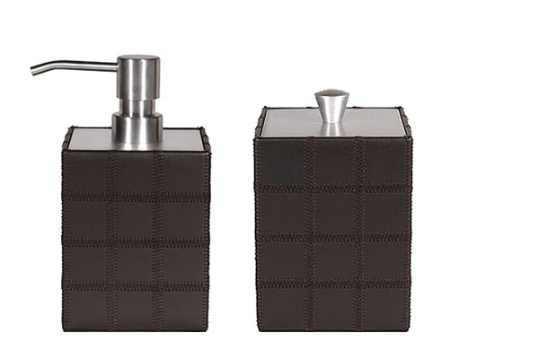 Leather Bath Accessories Kimpton Style Hotel Collection