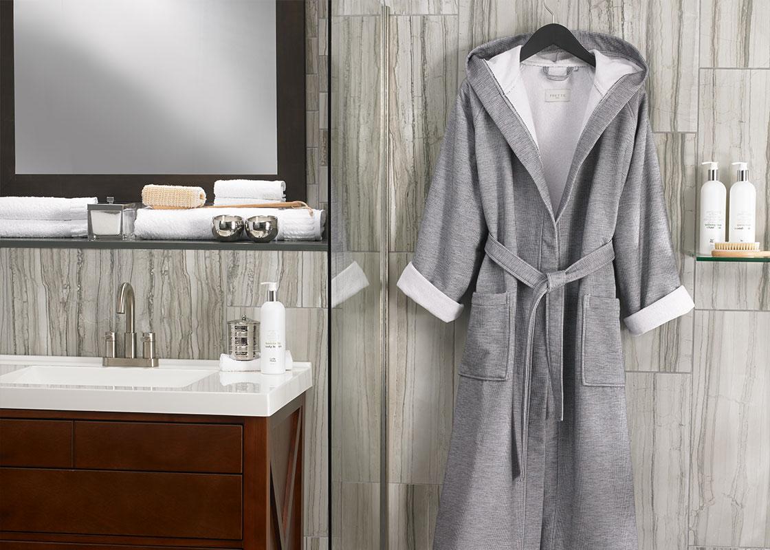 Grey Stripe Robe 872de61e3