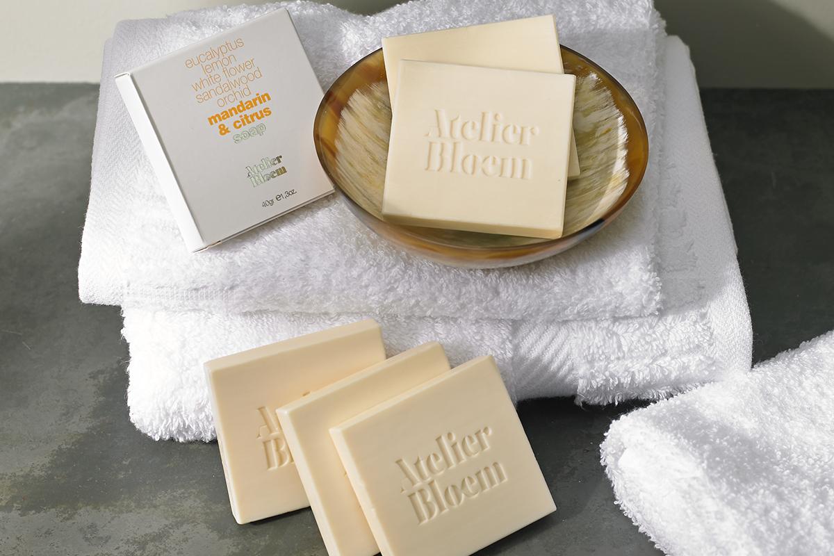 Atelier Bloem Mandarin & Citrus Bar Soap | Kimpton Style