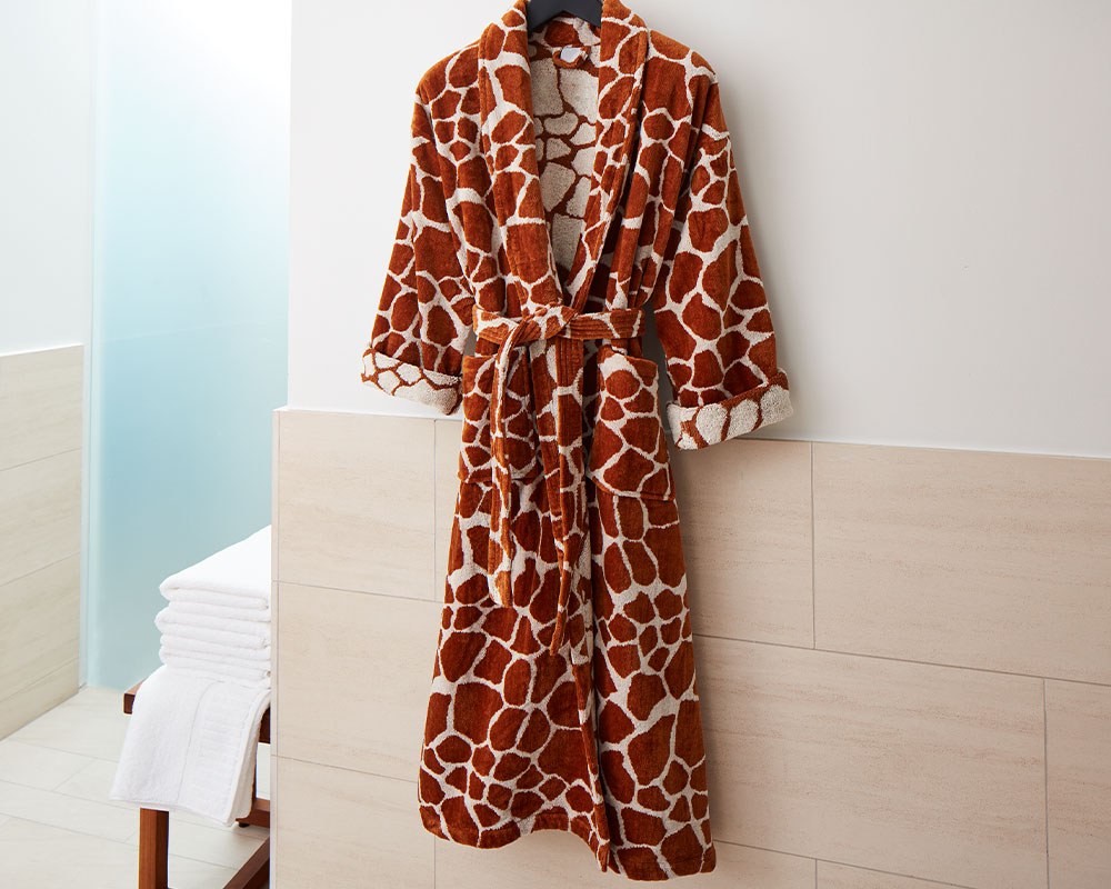 Giraffe Robe Kimpton Style
