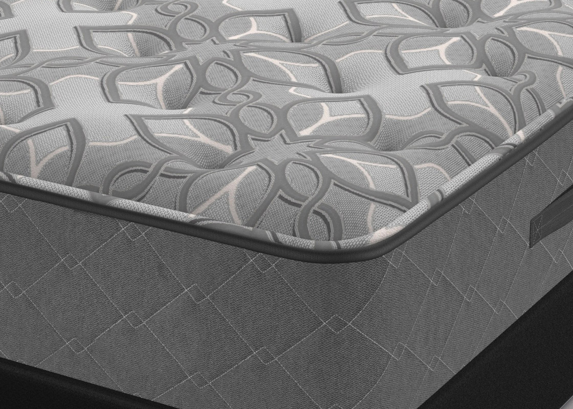 mattress box spring kimpton style. Black Bedroom Furniture Sets. Home Design Ideas
